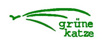 grüne katze